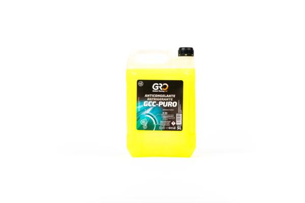 gro anticongelante-refrigerante gcc-puro amarillo 5l
