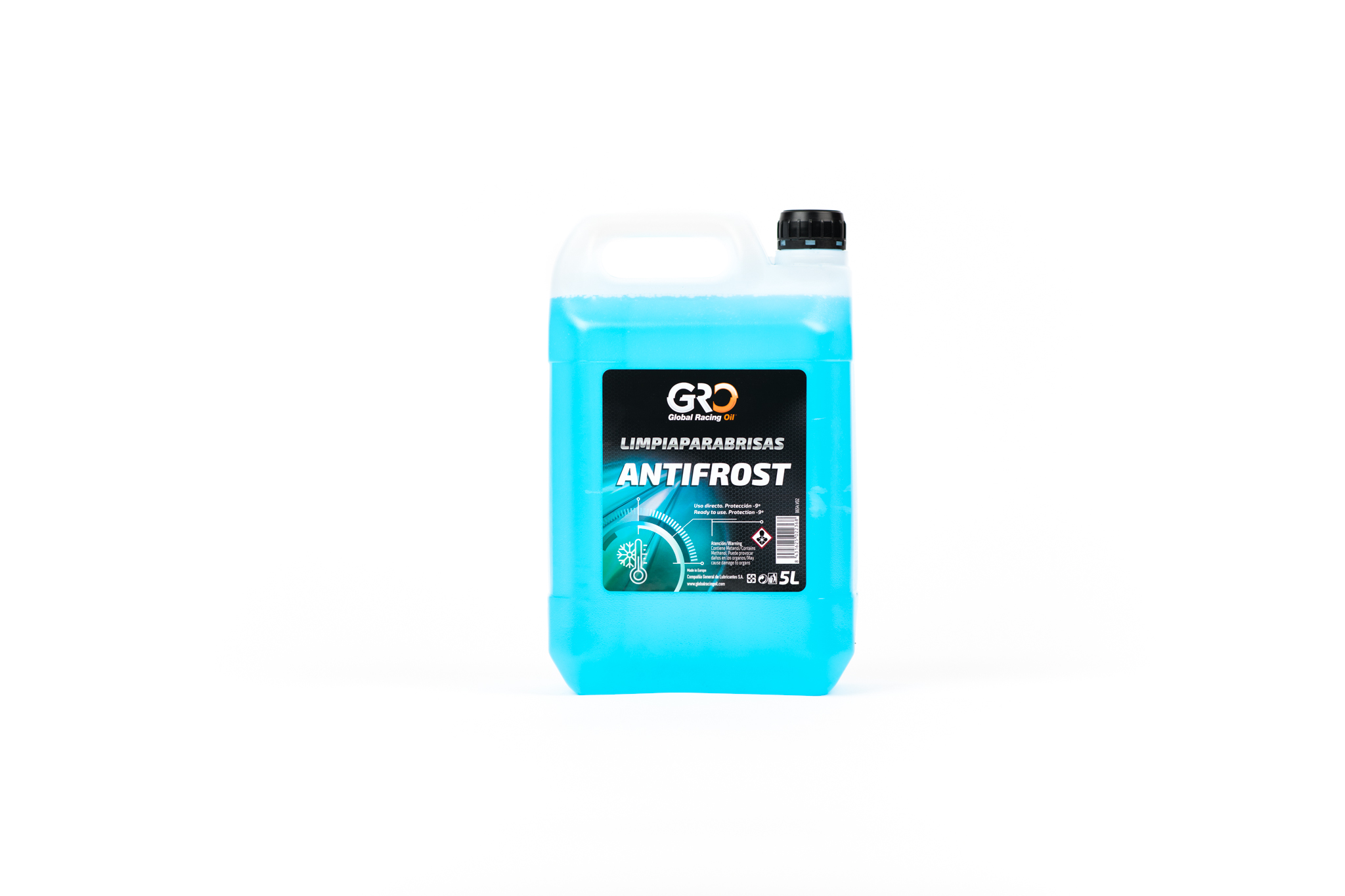gro limpiaparabrisas antifrost (global glass cleaner) 5l